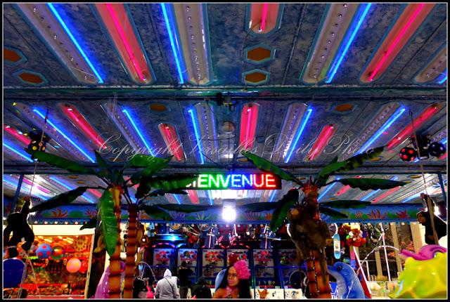Funfair fête foraine Versailles 2015