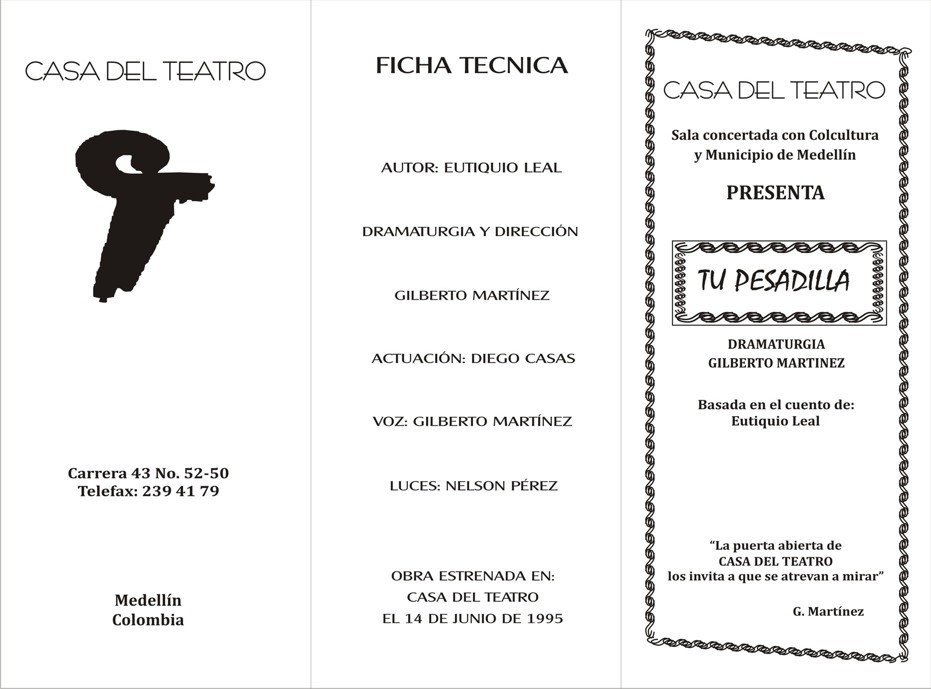 Teatro A