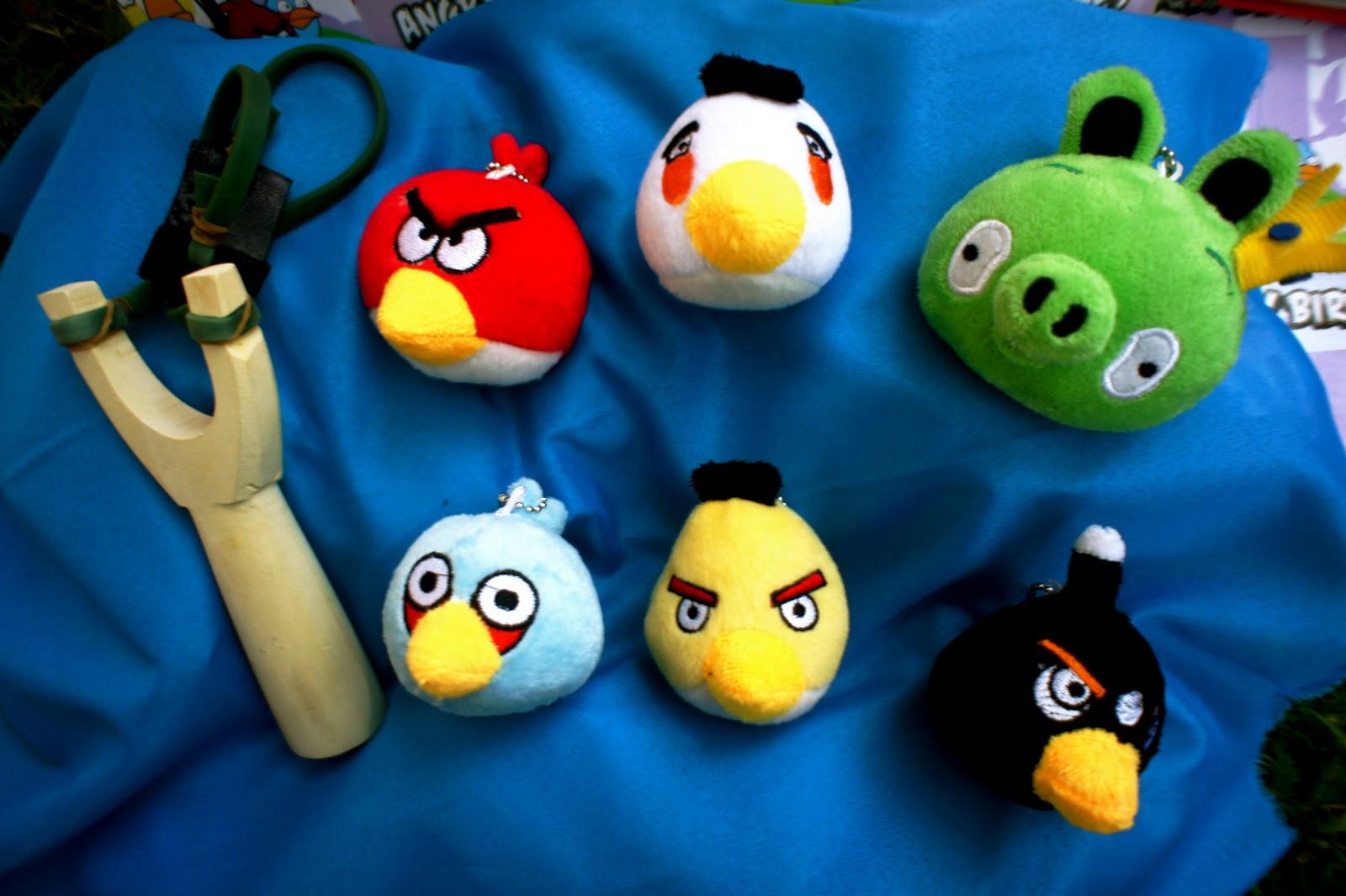 Anger Bird Toy : Angry birds plush toys