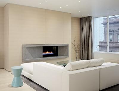 decoración departamento minimalista