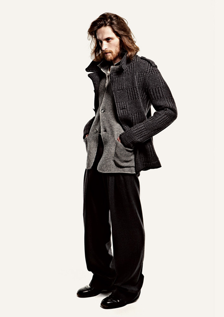 F/W 2012 Homeless Style Men's Fashion