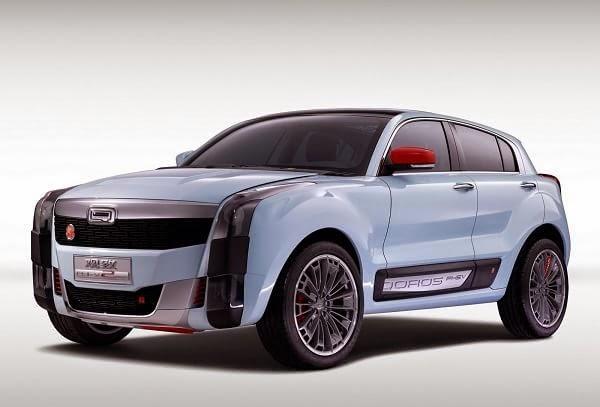 Qoros 2 SUV Concept