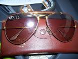 rayban leather