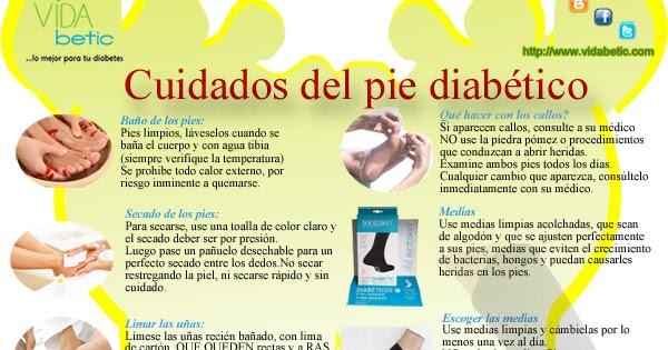 Cuidados para el Pie Diabético: guía para el cuidado de