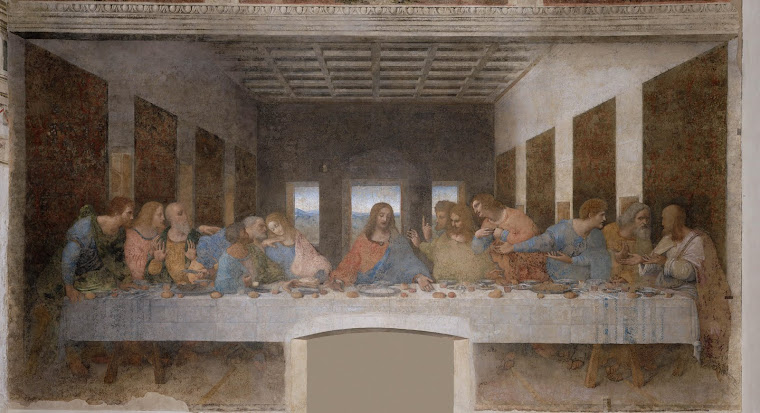 "Leonardo Da Vinci,     ""The Last Supper"""