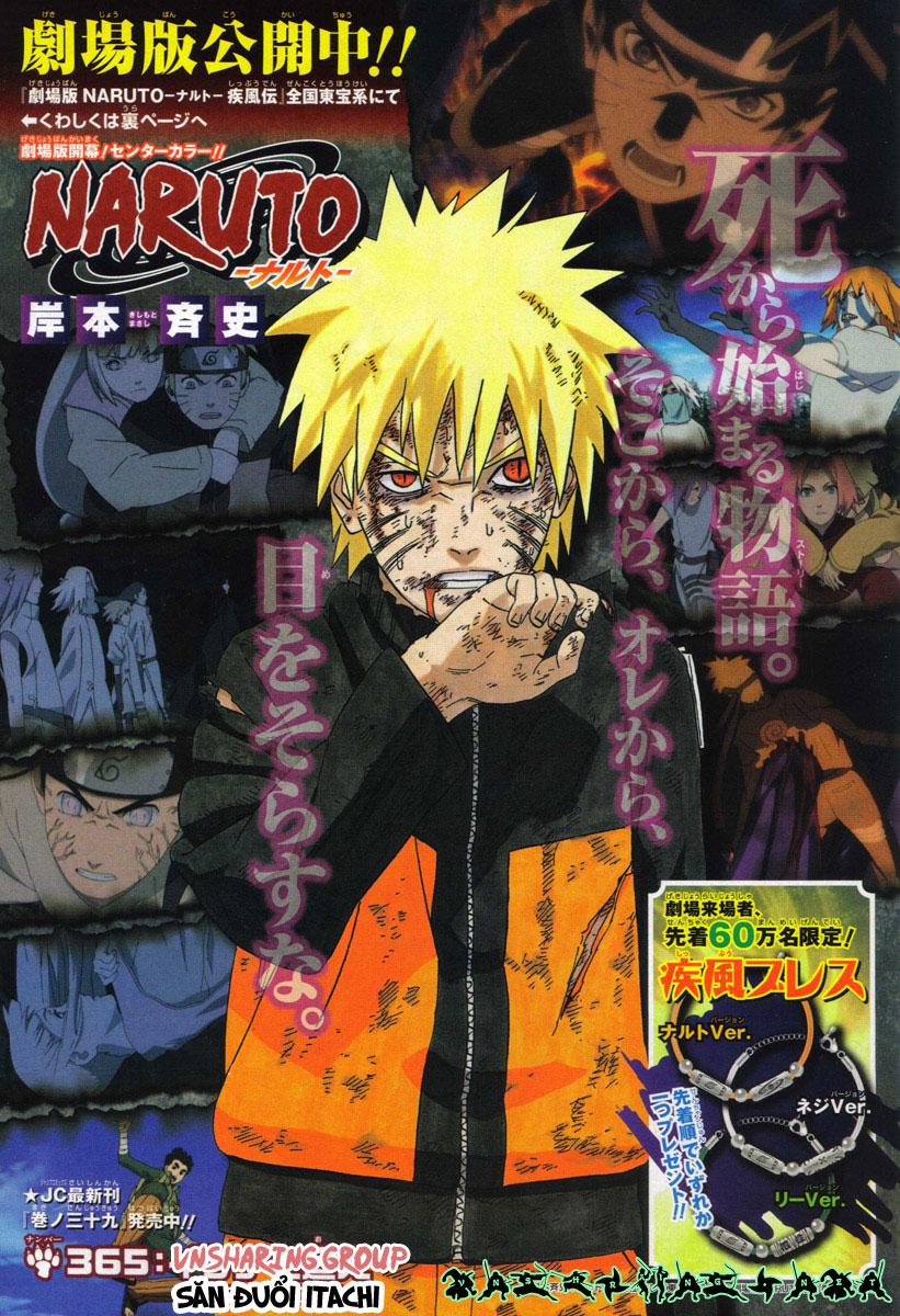 Naruto chap 365 Trang 2 - Mangak.info