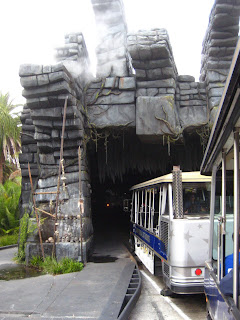 The entrance to Peter Jackson's King Kong 360 3-D.  Such an awesome experience!
