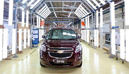 Mobil Chevrolet Spin mulai diproduksi
