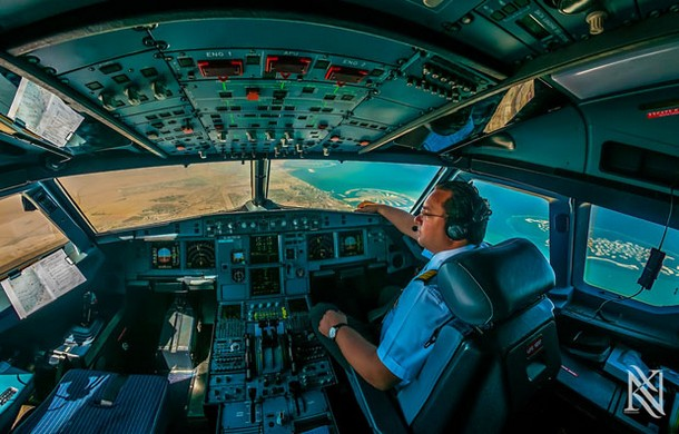 Photos of Airplane Cockpit