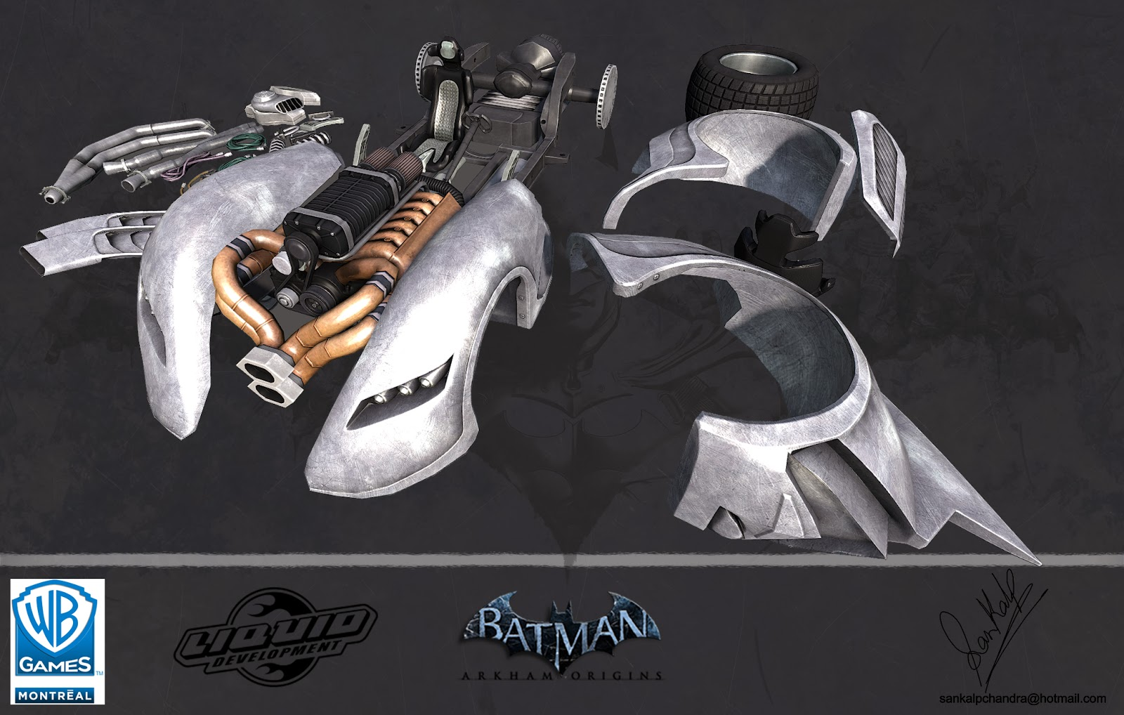 Batman Arkham Origins | Freelance 3D Artist