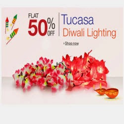 Amazon: Buy Diwali Lighting upto 60% off from Rs. 55
