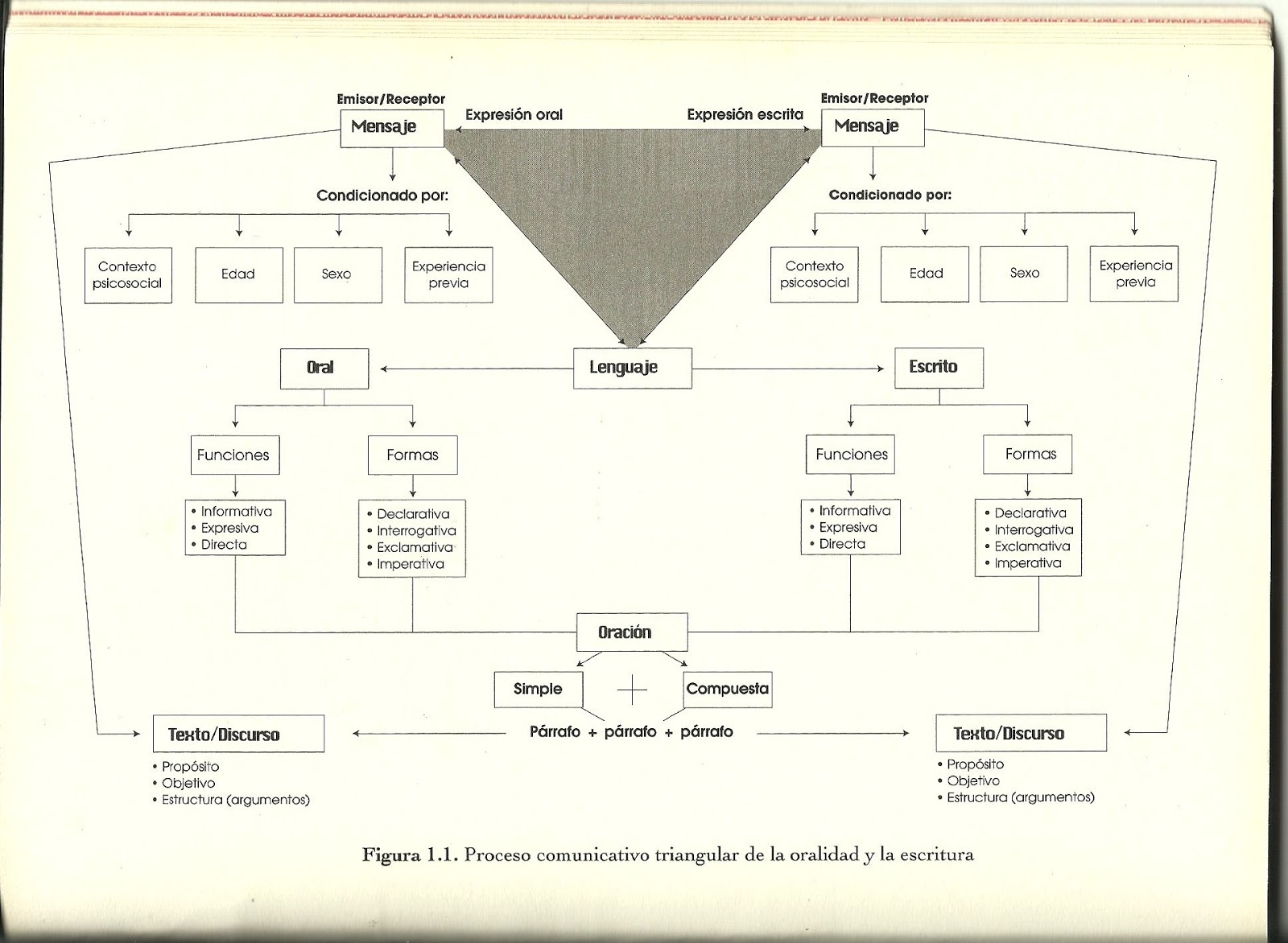 Circuito Comunicativo : Educación sin fronteras: proceso comunicativo triangular de la