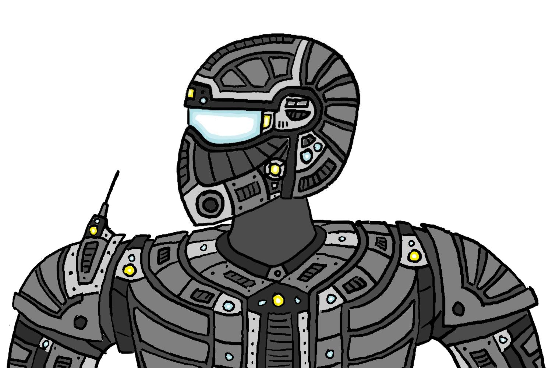 Generated Fan Art Finished+Commando