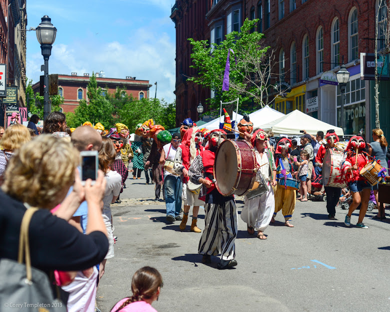 Old Port Festival Parade. Summer 2013. Portland, Maine. Photo by Corey