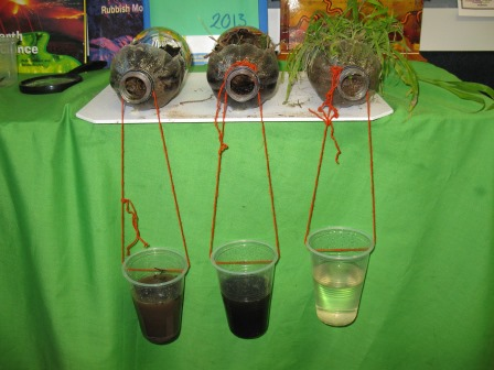Year 3 and 4 on the hill soil erosion for Soil jar experiment