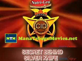CID- Secret Behind Silver Knife -13th July