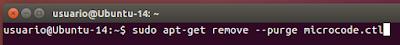 sudo apt-get remove --purge microcode.ctl
