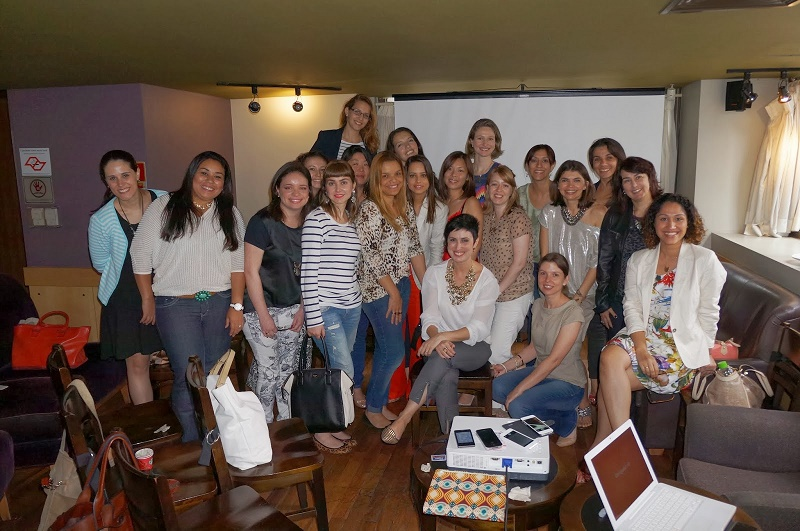 turma do workshop da Ana Soares - Hoje vou assim OFF - São Paulo 2013