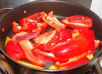 Simple Chinese recipe cook red pepper