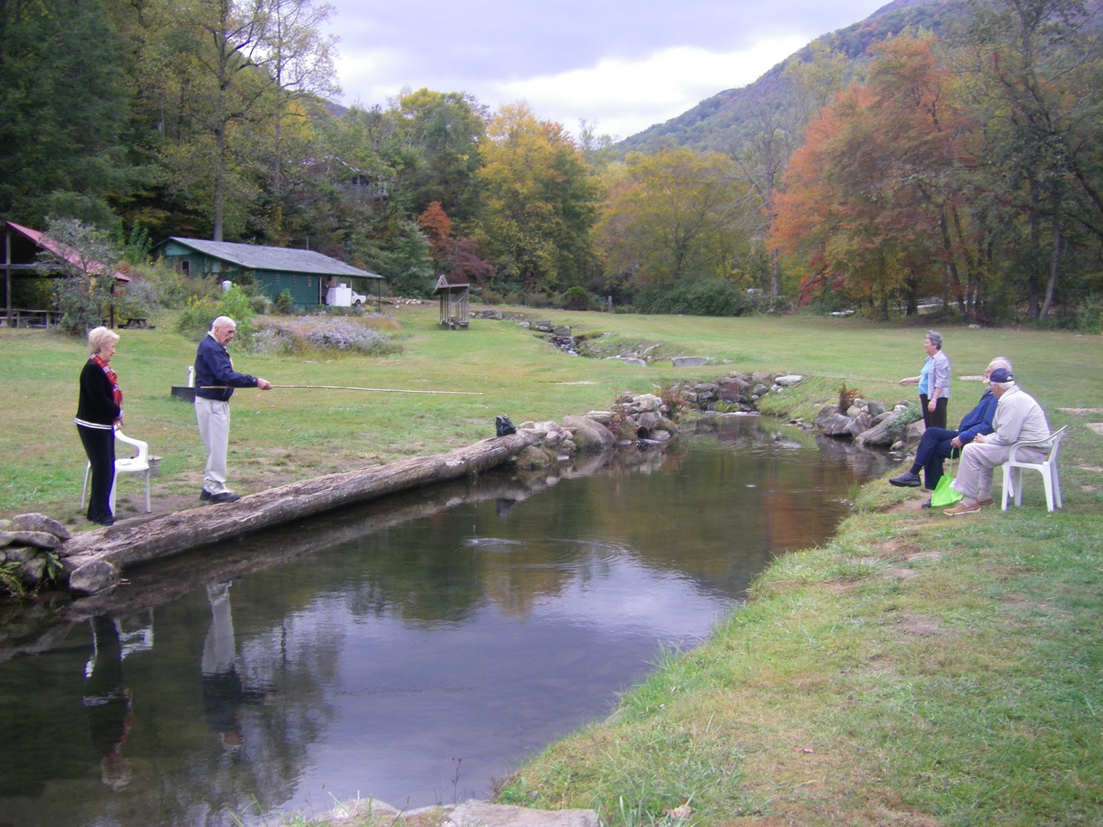 Dancing on the journey more rabun ramblings - Trout farming business family mountains ...