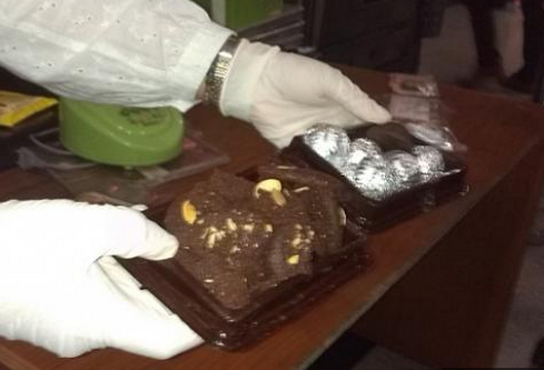 Ganja Dalam Brownies Coklat