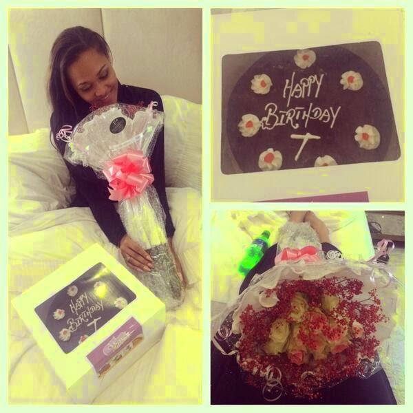 tania omotayo birthday gift