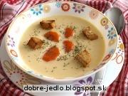 Krémová cesnaková polievka - recept