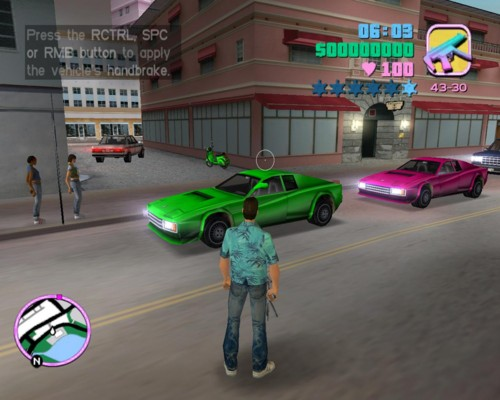 gta vice city download free games