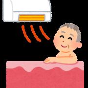 浴室暖房機のイラスト