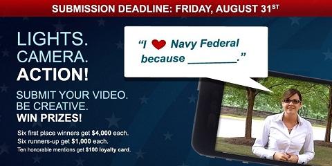 Concours Navy FCU sur Facebook