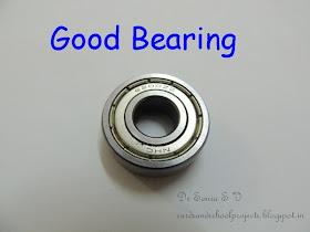 Big shot bearing