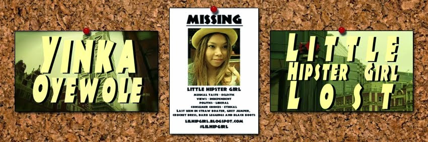 Little Hipster Girl Lost