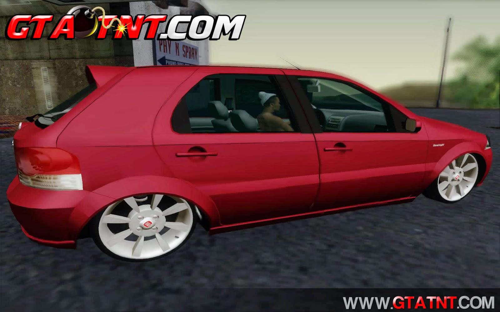 Fiat Palio ELX 1.8 2010 com Suspens�o a Ar para GTA San Andreas