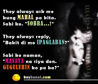 Pinoy Emo Quotes and Tagalog Emotional Quotes