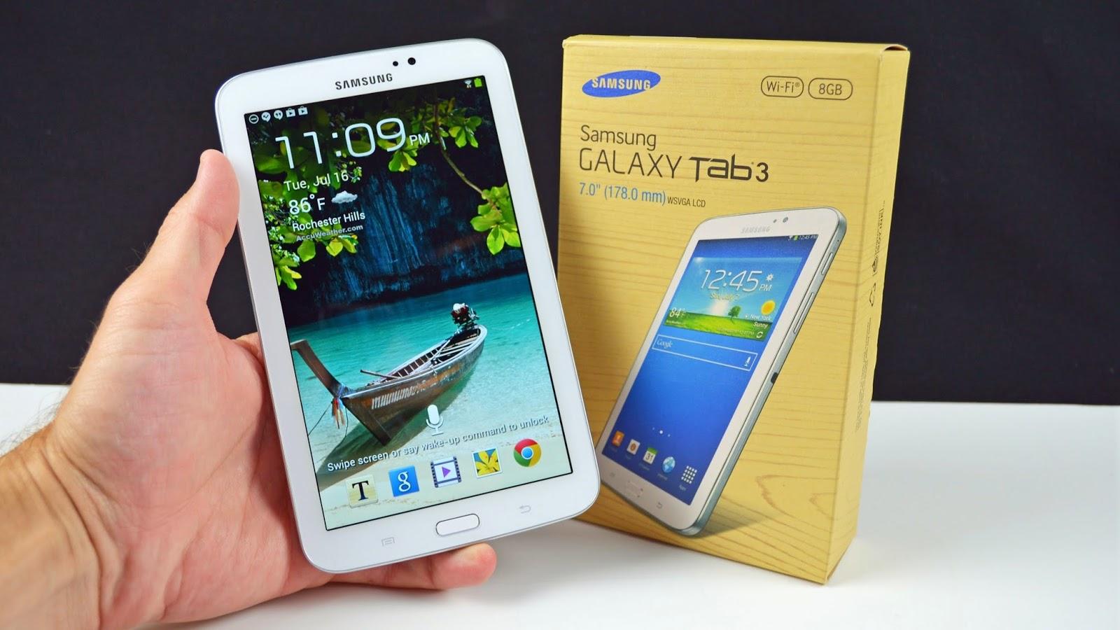 Spesifikasi Lengkap Samsung Galaxy Tab 3 7.0