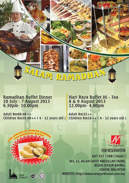 New York Hotel Johor Bahru Buffet Ramadhan 2013