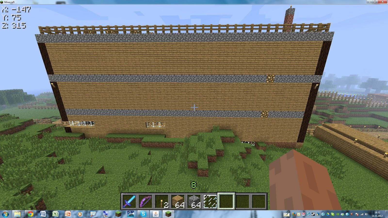 Minecraft kamin bauen