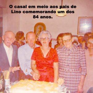 Lino Vitti e seus pais