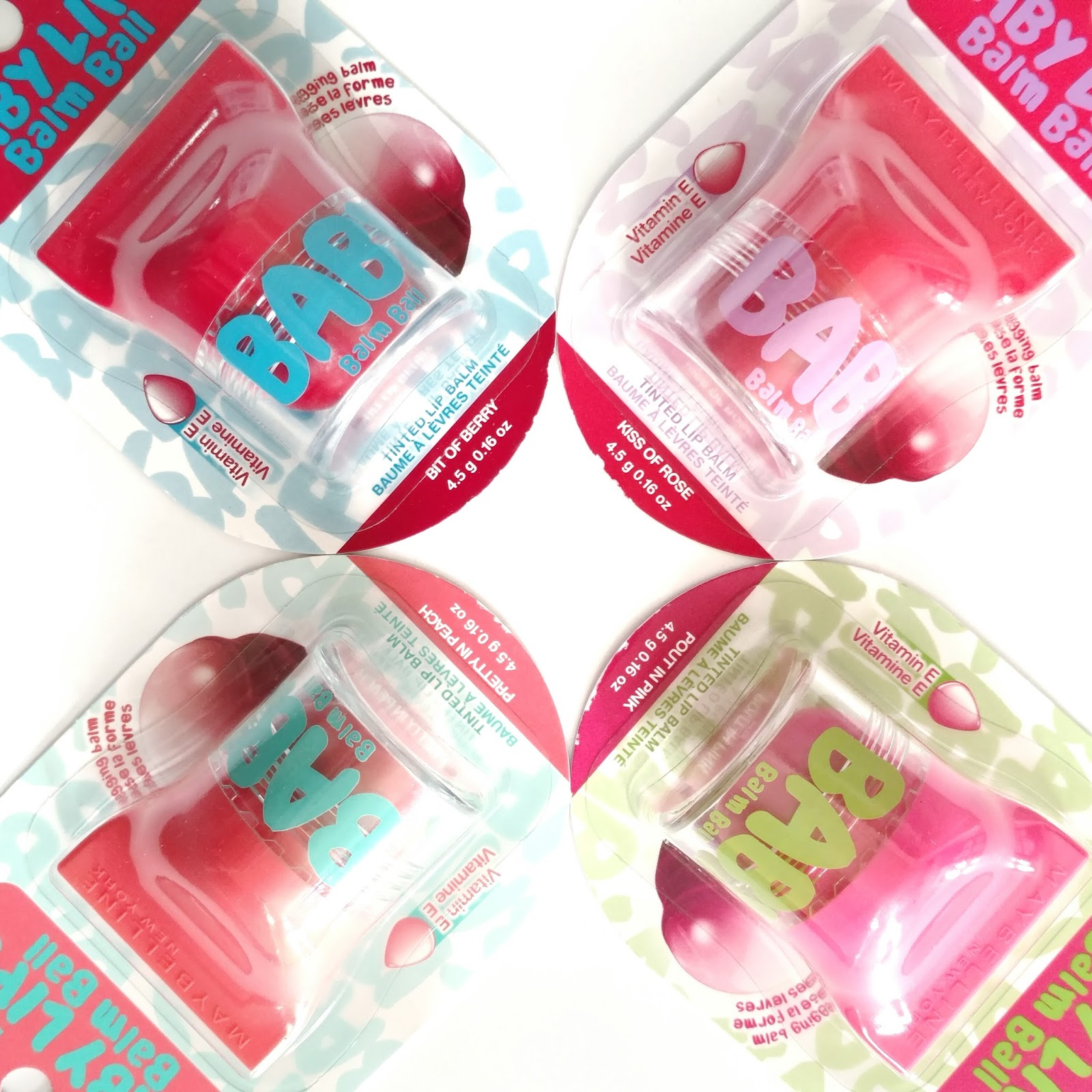 Maybelline Baby Lips Balm Ball Review
