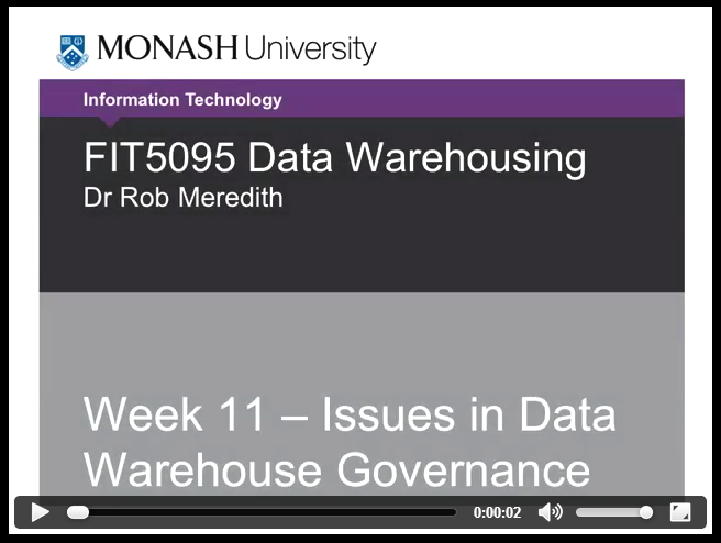 Datawarehose Governance