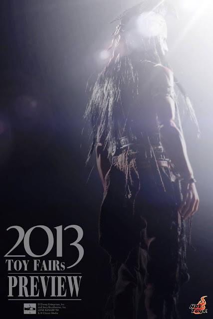 "Hot Toys 1/6 Scale Lone Ranger 12"" Tonto Figure (teaser)]"