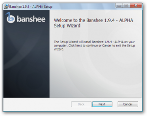 Banshee for Windows