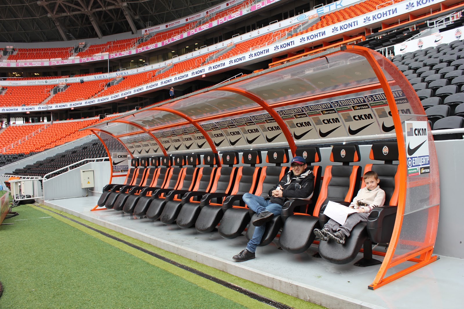 Image Gallery Soccer Benches