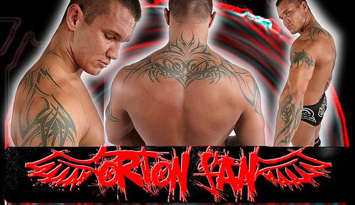 randy orton tattoo wallpaper