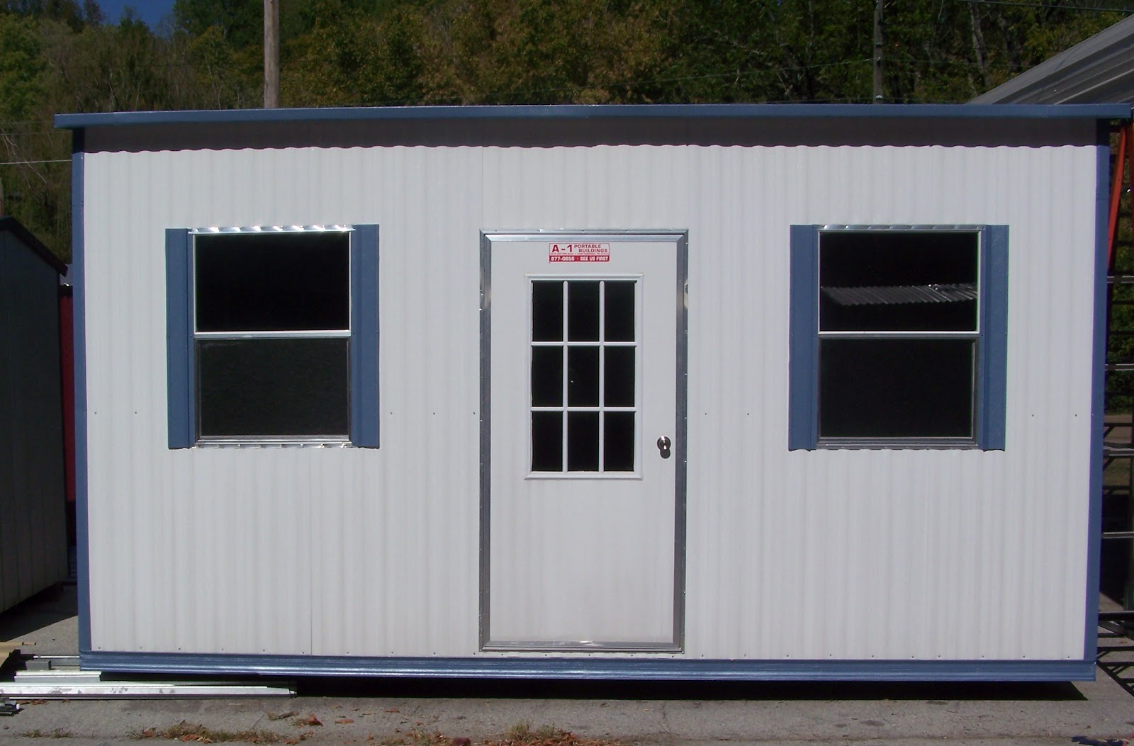Portable office buildings for Portable shed office