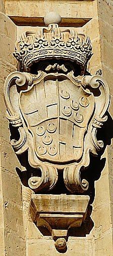 Armas de Frei Dom Manuel Pinto, grão-mestre da Ordem de Malta