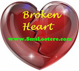 Broken Heart SMS
