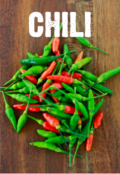 what color are chili peppers