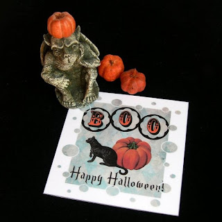 Paper magnet Halloween