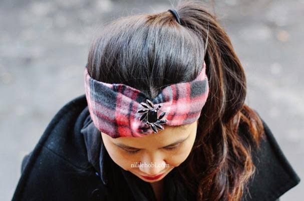 Şık Kışlık Saç Bandı Yapımı